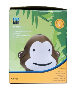 FISAMED COMPRESSOR AERO MONKEY BROWN OTC SOL