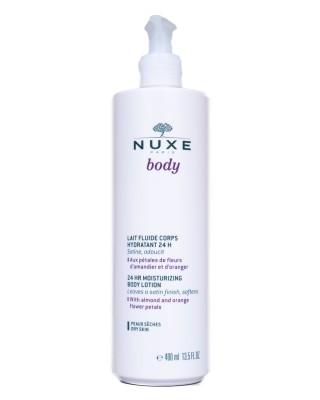 Nuxe Body Lichaamsmelk Hydra 24u Pompfl 400ml