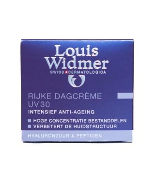 WIDMER DAGCREME RIJK UV30 PARF POT 50ML