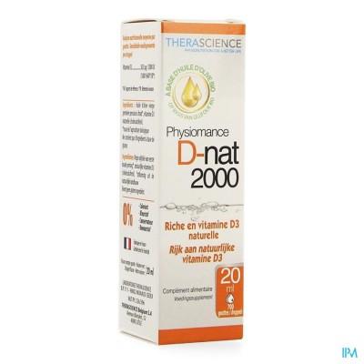D-nat 2000 Fl Gutt 20ml Physiomance Phy341