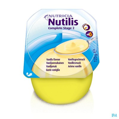 Nutilis Complete Stage 2 Vanille Fl 4x125ml