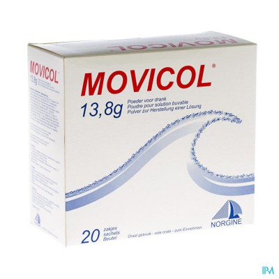 Movicol Impexeco Citroen Pdr Zakje 20x13,8g Pip