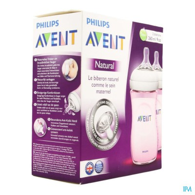 Avent Zuigfles Duo Natural 260ml