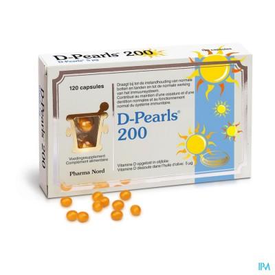 D-pearls 200 Caps 120