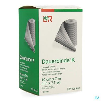 DAUERBINDE K 10CM X 7M 1 105900