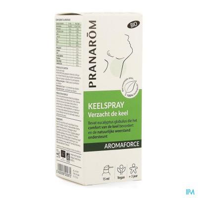Aromaforce Bio Keelspray 15ml