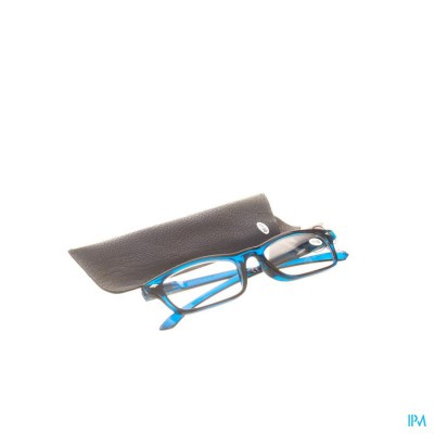 Pharmaglasses Leesbril Diop.+1.00 Dark Blue
