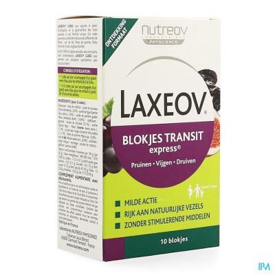 LAXEOV TRANSIT PRUIM-VIJG-DRUIF BLOKJES 10X10G
