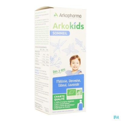 ARKOKIDS SLAAP FL 100ML