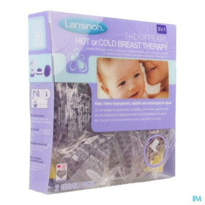 Lansinoh Therapearl Warmte&ijspack Vr Moeders 3in1