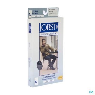 Jobst For Men Casual K1 15-20 Ad Black Xl 1p