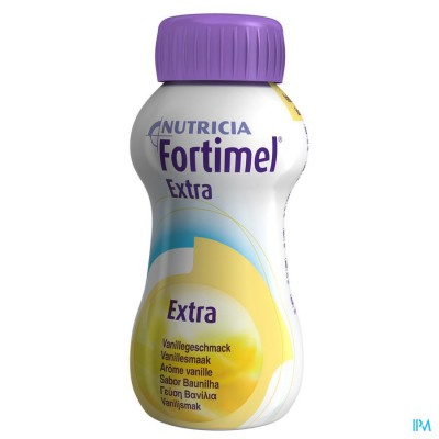 Fortimel Extra Vanille Flesjes 4x200ml