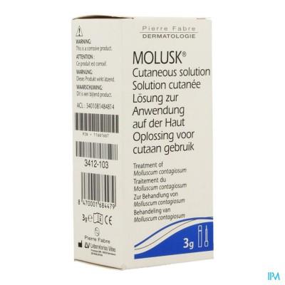 MOLUSK OPL CUTAAN 3G