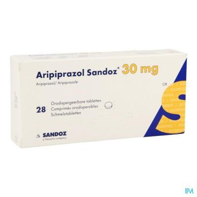 Aripiprazol Sandoz 30mg Comp Orodisp. 28 X 30mg