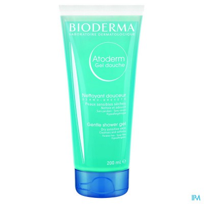 Bioderma Atoderm Gel Douche Overvet Tube 200ml