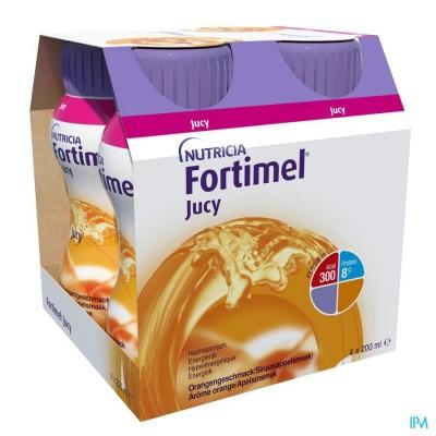 Fortimel Jucy Sinaasappelsmaak 4x200ml 155764