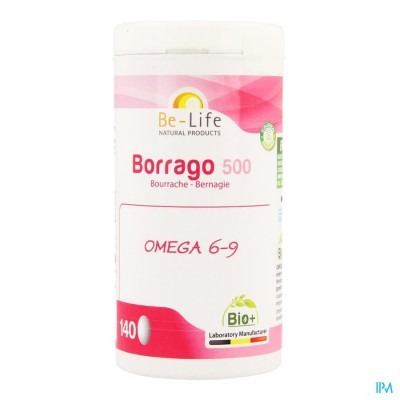 Borrago 500 Be Life Bio Caps 140