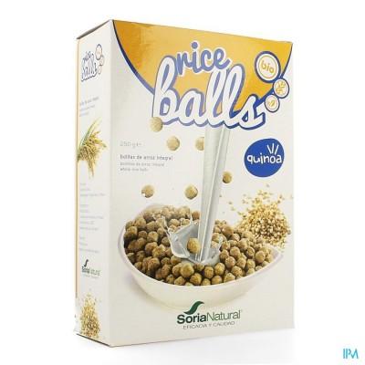 Soria Balletjes Rijst Quinoa Bio 250g