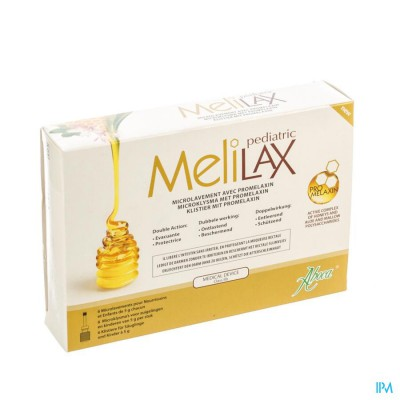 Melilax Pediatric Microklysma 6x5g Aboca