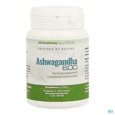 Ashwagandha 600mg V-caps 60 Pharmanutrics