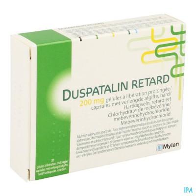 Duspatalin Retard 200mg Verl.afgifte Caps 30