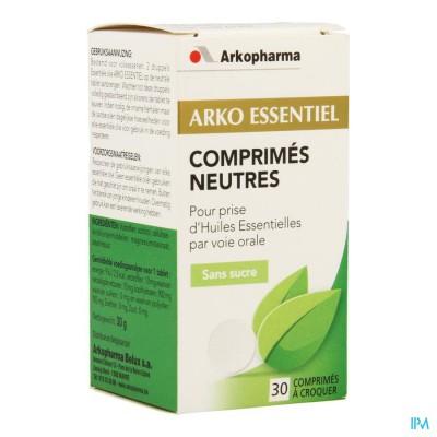 Arko Essentiel Neutrale Tabletten Kauwtabl 30