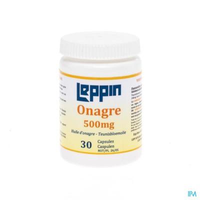 LEPIVITS TEUNISBLOEMOLIE 500MG 10% GLA CAPS 60