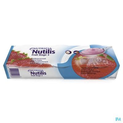 Nutilis Fruit Stage 3 Aardbei 3x150g