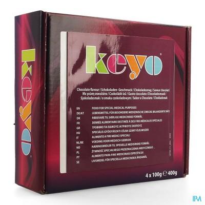 Keyo Pudding Chocolade 4x100g