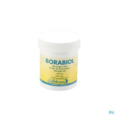 Borabiol Caps 180x500mg Deba