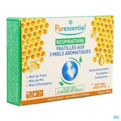 Puressentiel Ademhaling Pastillen 3 Honing 24