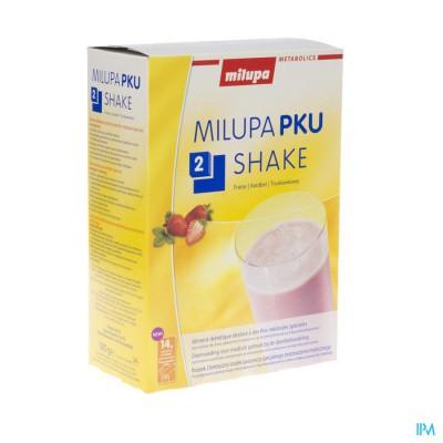 Pku 2 Shake Aardbei Zakje 10x50g