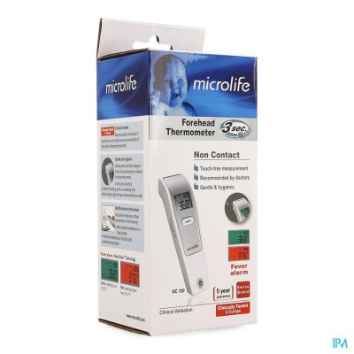 Microlife Nc150 Non Contact Thermometer Otc Sol