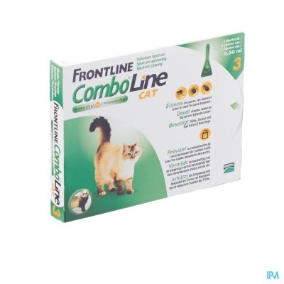 FRONTLINE COMBO LINE CAT 3X0,5 ML