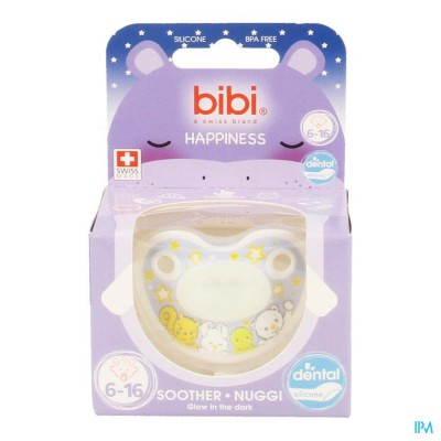 BIBI FOPSPEEN DENTAL GLOW IN THE DARK 6-16M
