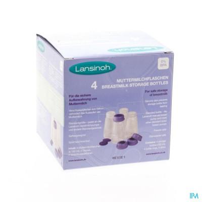 Lansinoh Bewaarflesjes Voor Moedermelk 4