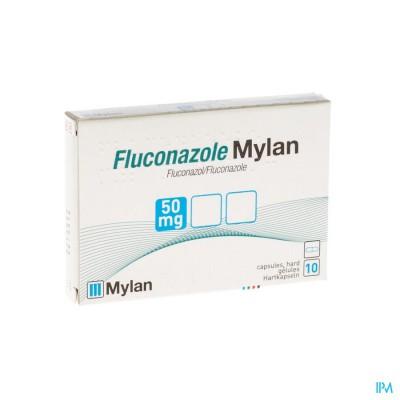 Fluconazole Mylan 50mg Caps 10 X 50mg