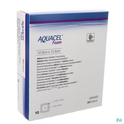 Aquacel Schuimverb Adh Hydrofiber 12,5x12,5cm 10
