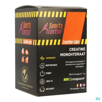 Sportscontrol Creatine Tabs Pot Tabl 120