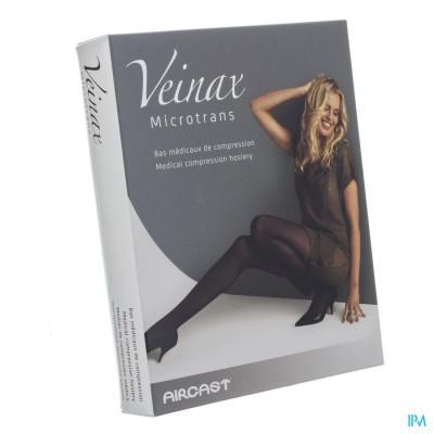 Veinax Kniekous Microfibre 2 Lang Zwart Maat 2