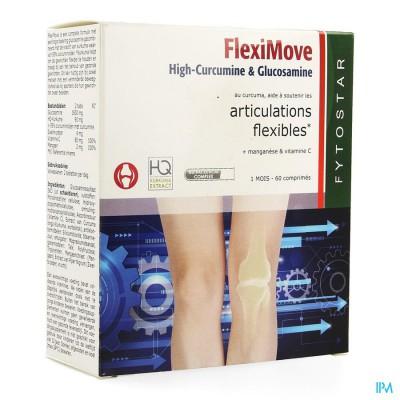 Fytostar Flexi Move Curcumine + Glucosam. Comp 60