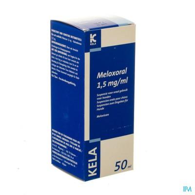 Meloxoral 1,5mg/ml Susp Ora Hond Fl 50ml