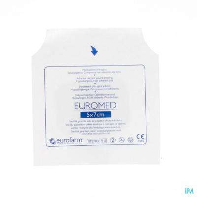 Euromed 5x 7cm 1 Eilandpleister Steriel