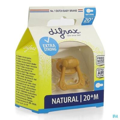 Difrax Fopspeen Natural 20+ M Assorti