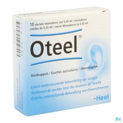 OTEEL OORDRUPPELS FIOL 10X0,45ML HEEL