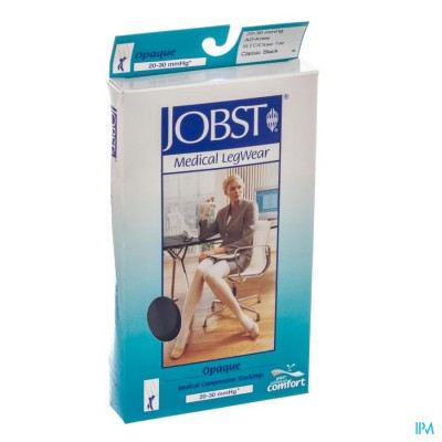 Jobst Opaque 20-30 K2 Knie Zwart Fc Xl 7848823