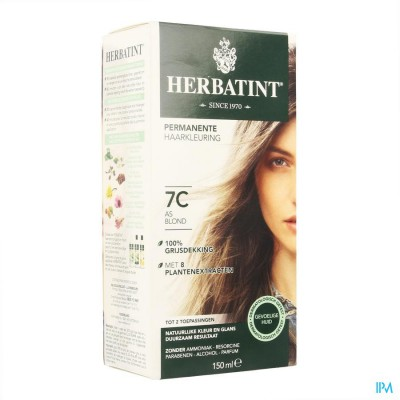 Herbatint Blond Askleurig 7c