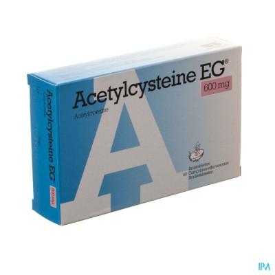 ACETYLCYSTEINE EG 600MG BRUISTABL 60X600MG