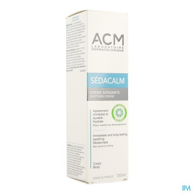 SEDACALM CREME VERZACHTEND TUBE 120ML