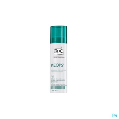 ROC KEOPS DEO FRISSE SPRAY Z/PARF NH 100ML
